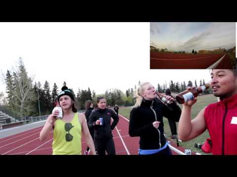 Edmonton Student Beer Mile 2016