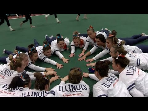 Illini Women's Gymnastics | Michigan State Highlights