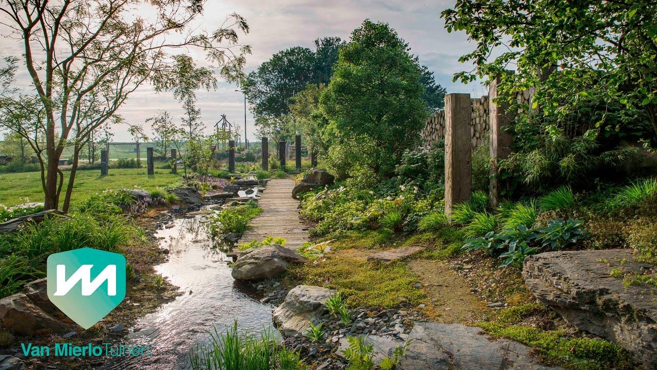 Van mierlo tuinen stream garden natuurtuin met beekloop youtube
