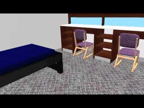 3 D Rendering Of Tanner. WIU Housing U0026 Dining Part 53