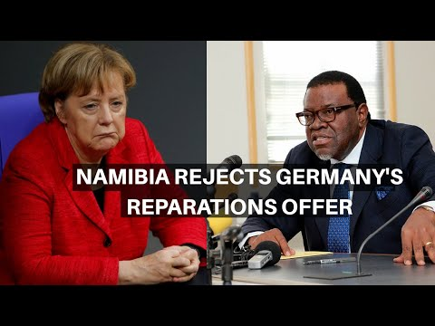 Namibia Rejects Germany's $11M Reparations Offer