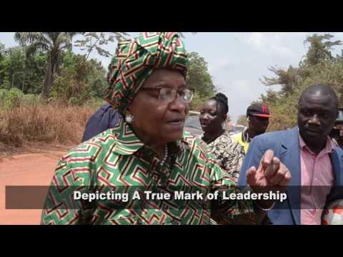 PRESIDENT ELLEN JOHNSON SIRLEAF VISITS NIMBA COUNTY (FEB 19 - 22 , 2017)