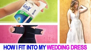 How I Tried To Fit Into My Wedding Dress