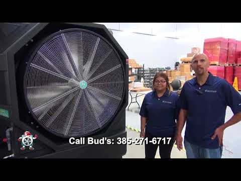 Giant Portable Swamp Cooler | M-502 Super Cooling Fan Testimonial