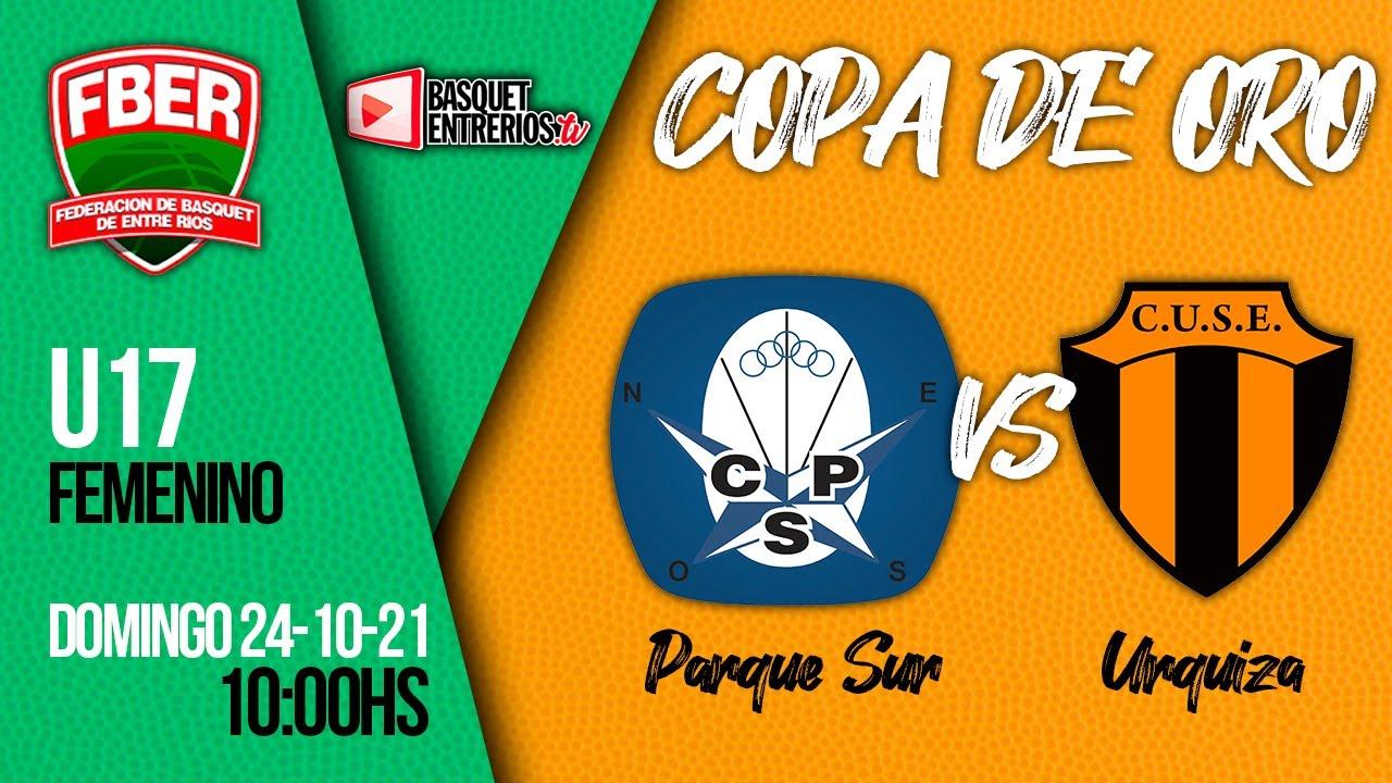 Download Liga Provincial Femenina U17 2021 / Copa de Oro: Parque Sur vs. Urquiza