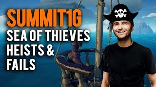 Sea of Thieves | Summit1G sneaking onto enemy ships and funny fails compilation