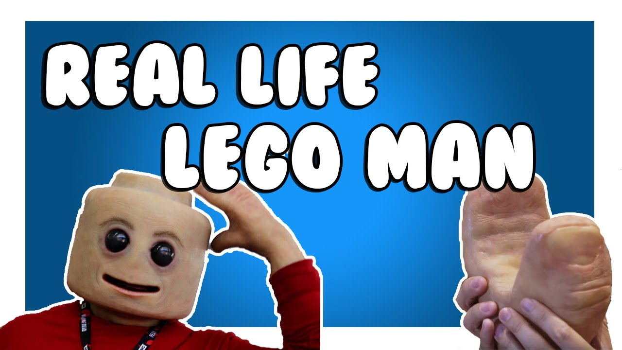REAL LIFE LEGO MAN EXPOSED (WARNING: MAY RUIN CHILDHOODS)