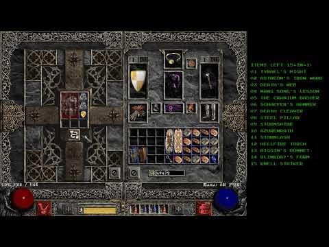 Diablo 2 - EBugging Some Armors - Holy Grail (Single Player / Plugy)