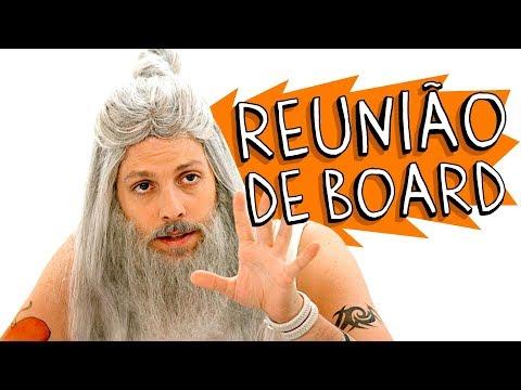 REUNIÃO DE BOARD