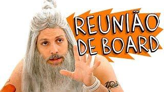 REUNIAO DE BOARD