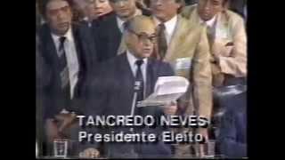 PROFECIAS DE TANCREDO NEVES EM SÃO JOÃO DEL REI - 1ª Parte