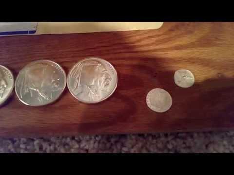 Mystery silver bullion