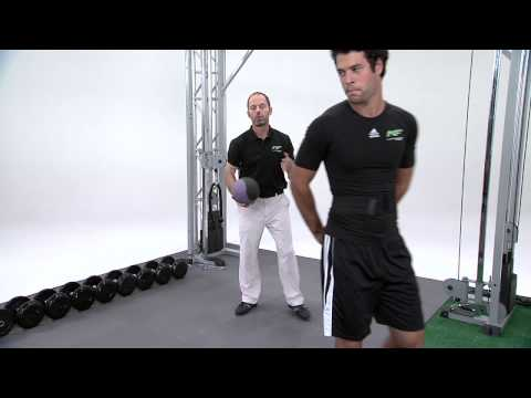 Golf Exercise – Medicine Ball Rotation