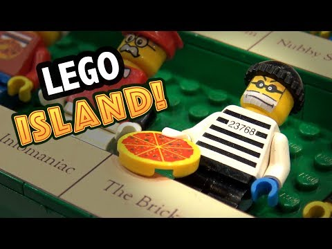 LEGO Island Video Game Built in LEGO