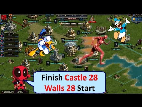 CLASH OF KINGS Log : Castle 28 Finished & Walls 28 Started | 1080p