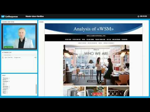 Master class  Retail (Hardline) industry Part 3 Williams Sonoma company (WSM) fundamental analysis