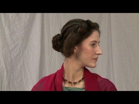 Haar Archaologin Kreiert Antike Frisuren Mit Nadel Und Faden