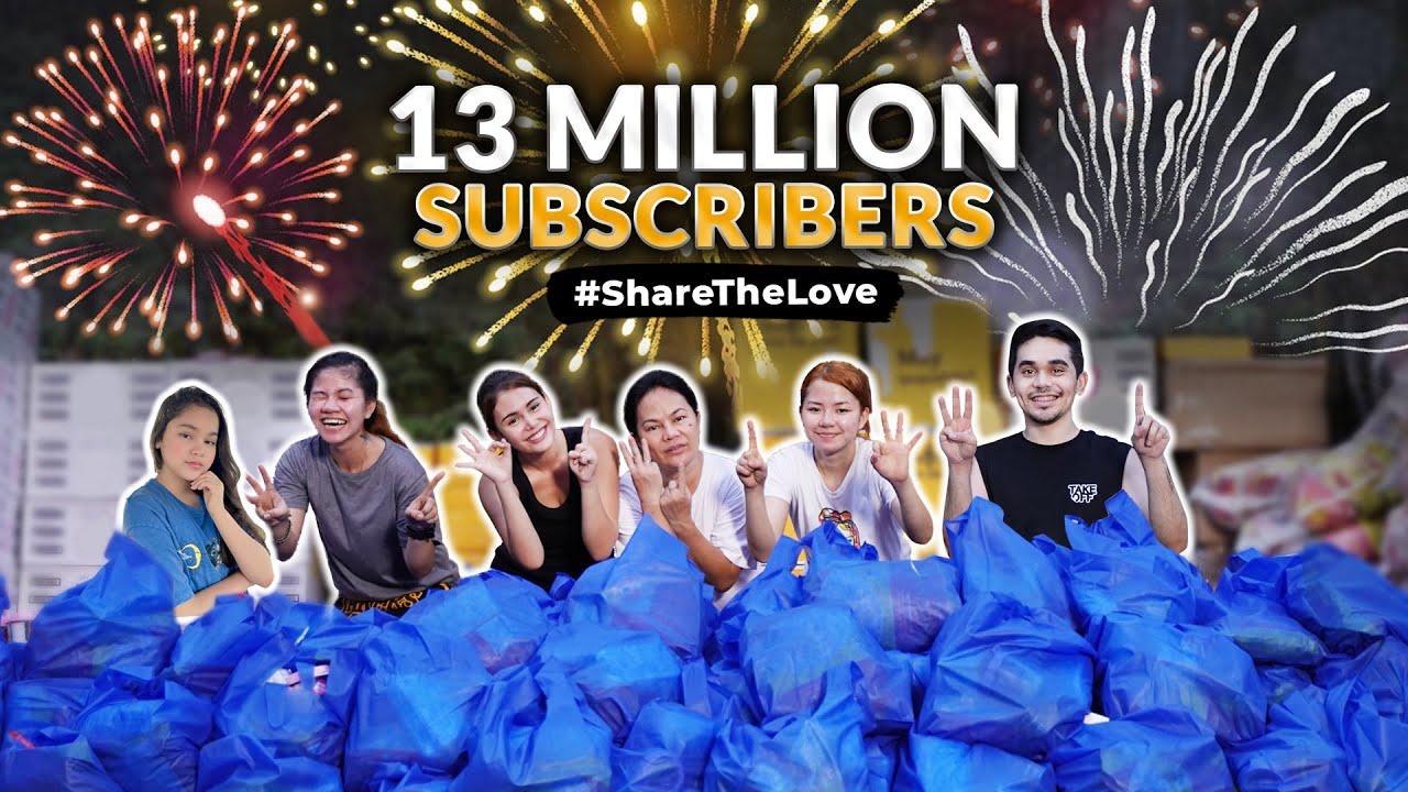 13 MILLION SUBSCRIBERS! *SHARE THE LOVE* | IVANA ALAWI
