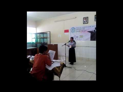 Speech Contest  Bogor 2017