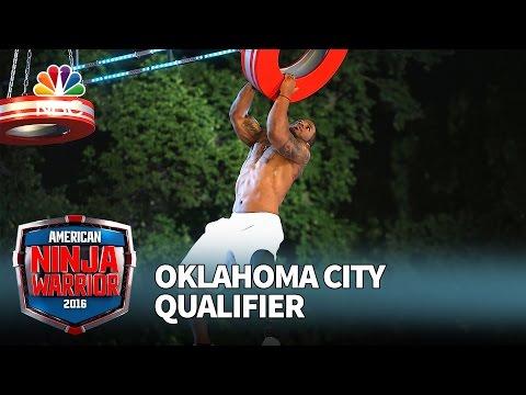 Artis Thompson III at the Oklahoma City Qualifier - American Ninja Warrior 2016