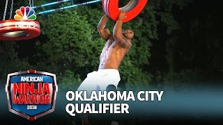 Artis Thompson III at the Oklahoma City Qualifier - American Ninja Warrior 2016
