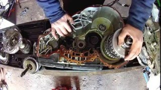 how to dismantle and inspect mercedes a class automatic gearbox