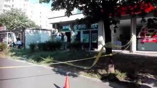 Взривиха и обраха банкомат на банков клон в Бургас