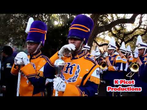 Edna Karr Marching Band 2018 Alla Parade Full Coverage