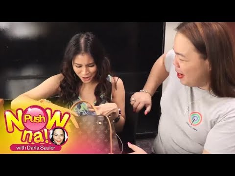 Push Now Na Exclusive: Bag Raid with Gelli De Belen | Part 1