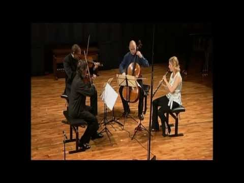 Mozart Oboe Quartet K370 Rachel Bullen,Ernst Kovacic,Michel Camille,Anssi Karttunen,Esbjerg,Denmark