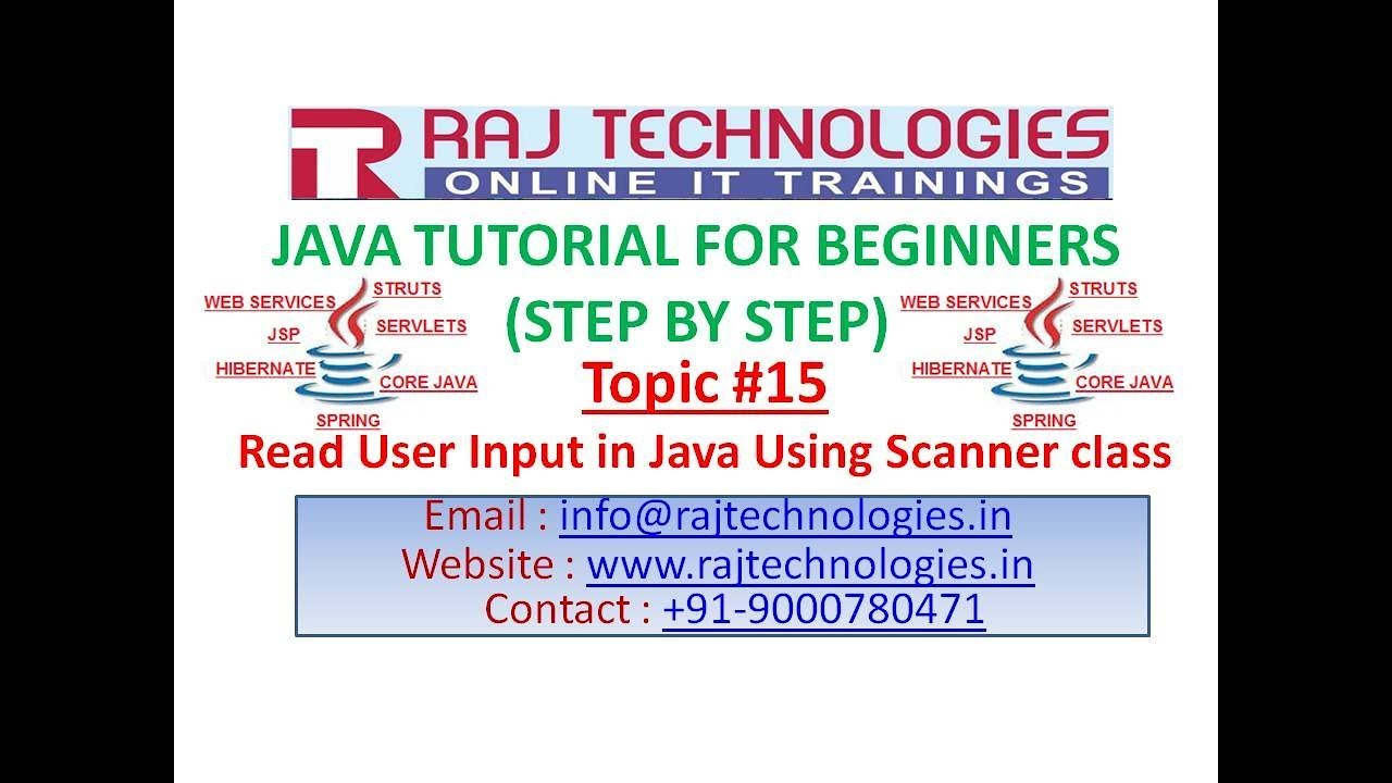 Tutorial for core java image collections any tutorial examples hibernate tutorial for beginners images any tutorial examples java tutorial for beginners 15 read user input baditri Images