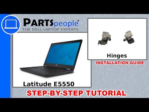 Dell Latitude E5550 LCD Hinge Replacement Video Tutorial