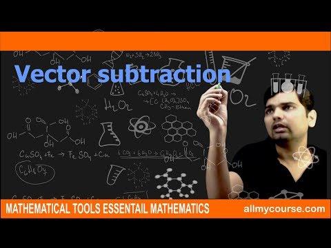 74  Vector subtraction