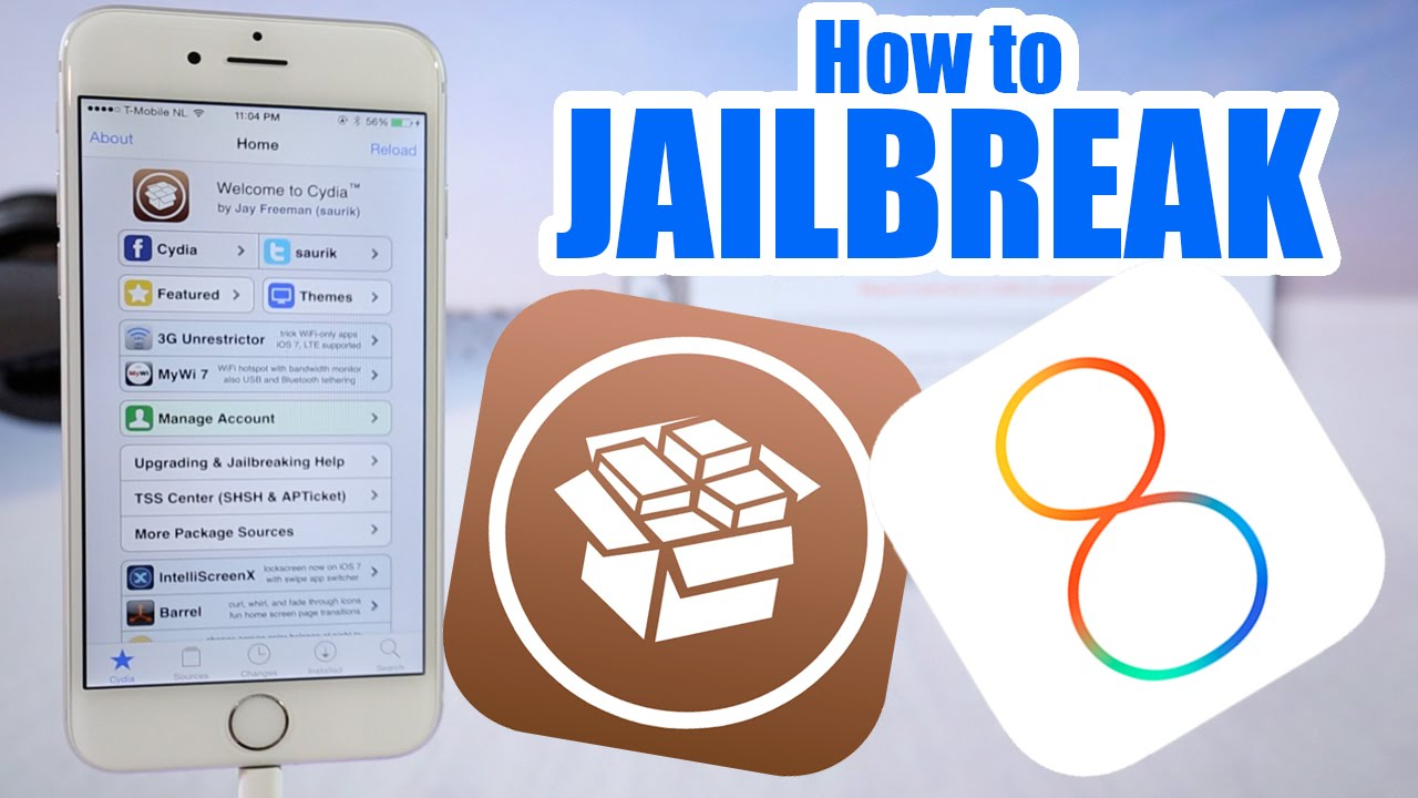 how to jailbreak iphone 5c how to jailbreak iphone 6 ios 8 1 8 0 2 iphone 5s 5c 1836