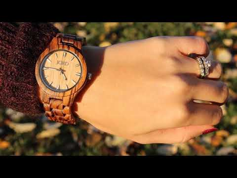 JORD Wooden Wrist Watches for Men or Women