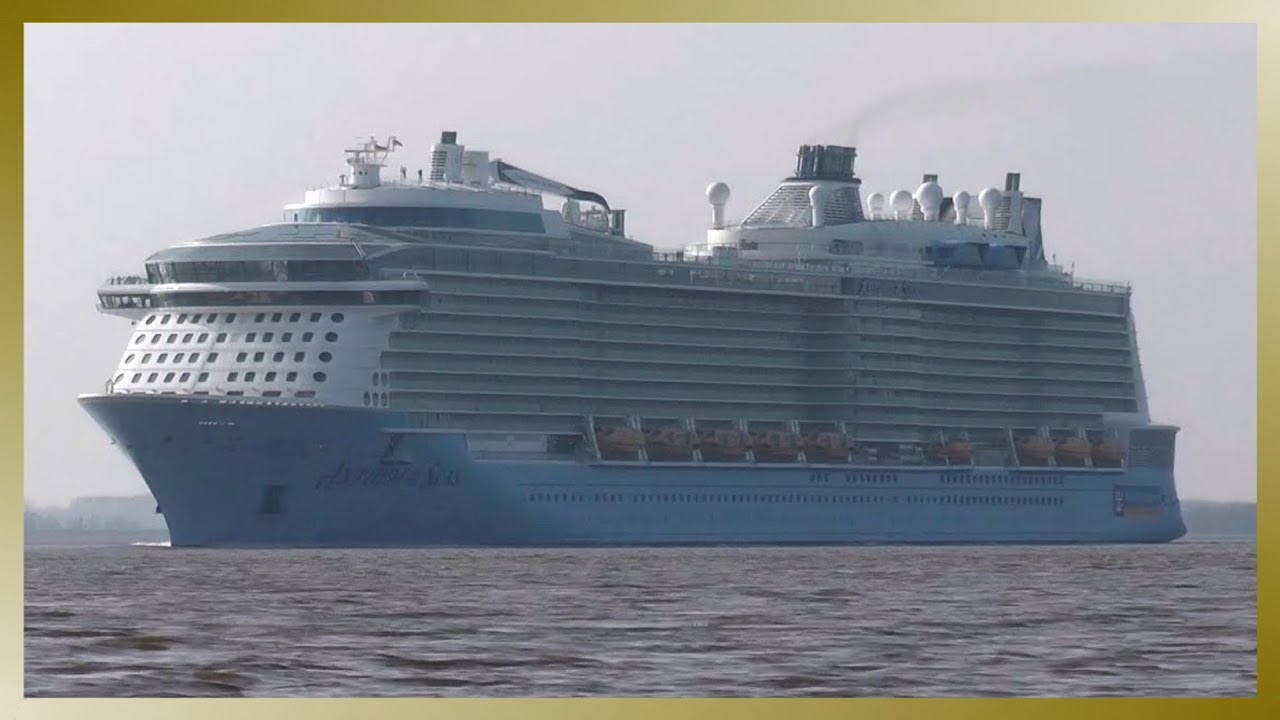 New Cruise Ship ANTHEM OF THE SEAS Heading For Hamburg YouTube - Anthem of the seas cruises