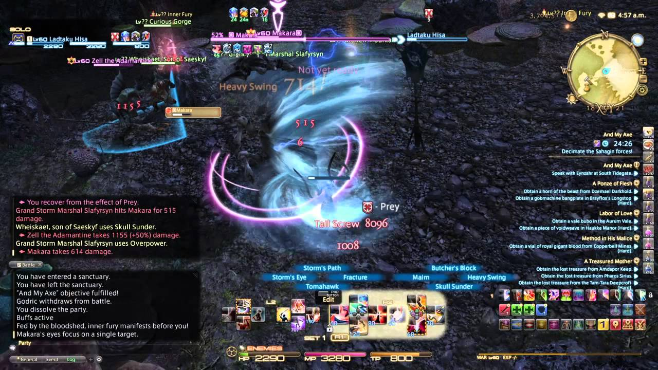 ffxiv how to get to lvl 60