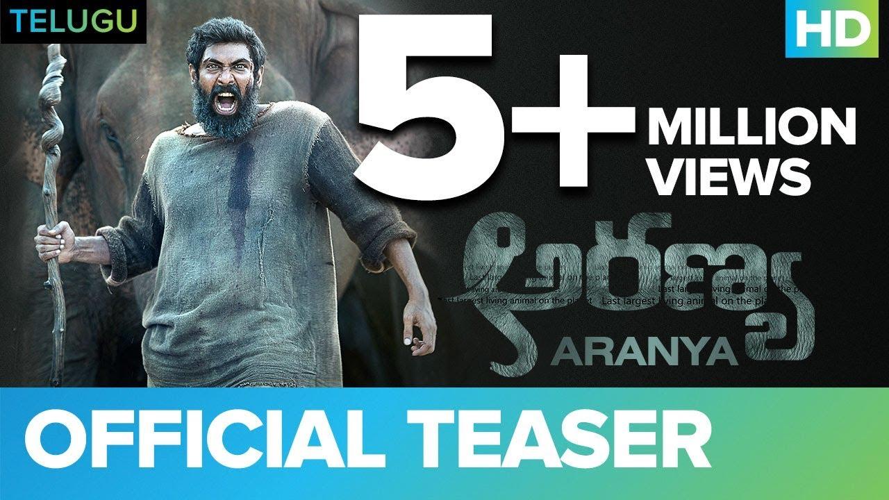 Download Aranya (Telugu) Official Teaser | Rana Daggubati | Vishnu Vishal | Prabu Solomon | Shriya | Zoya