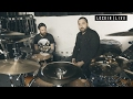 Backline with Valentino Arteaga - drummer with Of Mice & Men