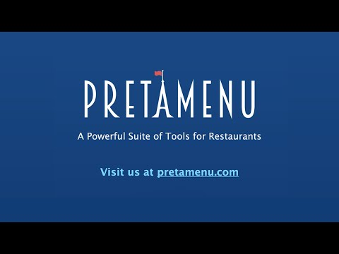 Pretàmenu - A Powerful Suite of Tools for Restaurants