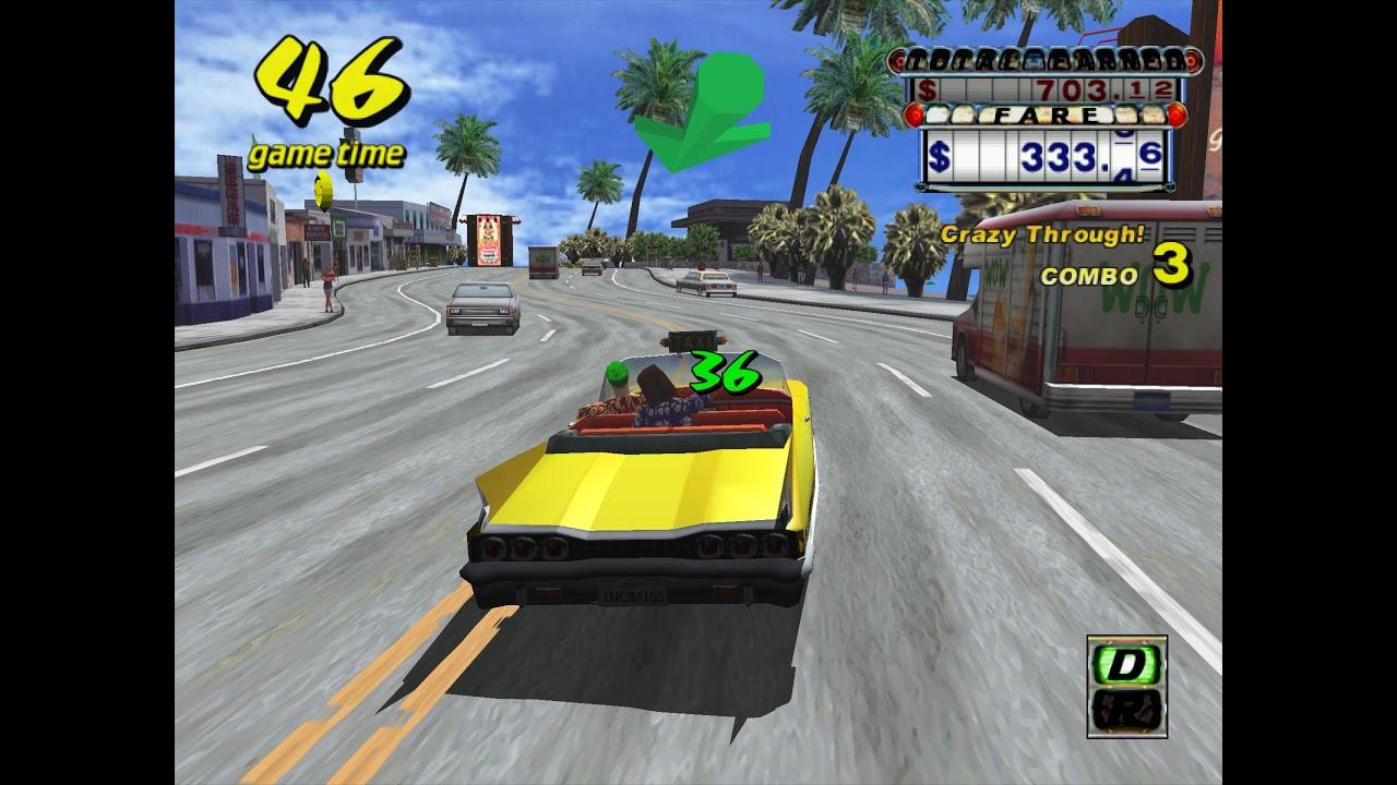 Flycast Libretro - Crazy Taxi for Naomi now working! (arcade version)  [RetroArch]