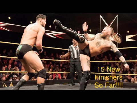 15 WWE New Finishers Of 2017 ( So Far ) !!!