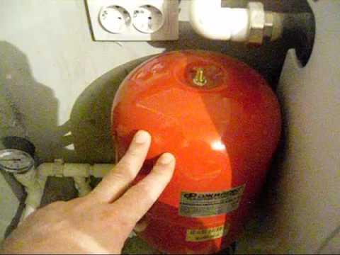 Правильное заполнение системы отопления закрытого типа.