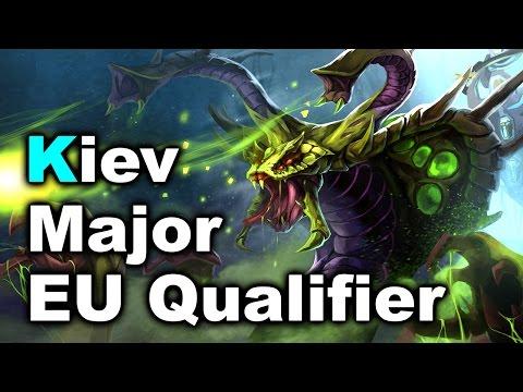 Alliance vs NiP vs SECRET - EU Kiev Major Qualifiers DOTA 2