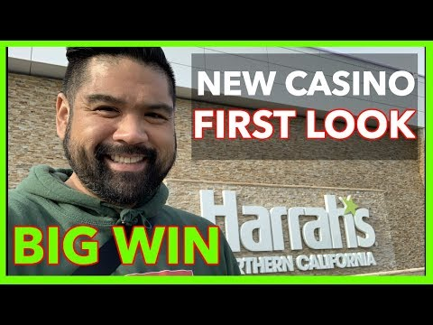 🎰NEW CASINO FIRST LOOK @ Harrahs Northern California | NorCal Slot Guy