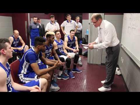 Drake Men's Basketball at Missouri State - Locker Room