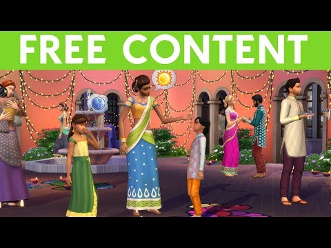 SIMS 4 UPDATE: NEW FREE CONTENT!