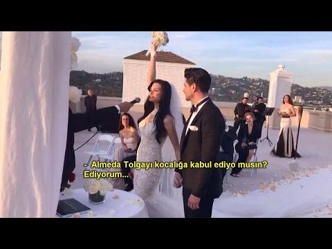 Renkli Sayfalar 197. Bölüm- Tolgahan Sayışman ve Almeda Abazi evlendi!