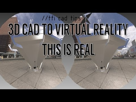 3D CAD model into VR, WORKING DEMO