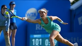 2016 Aegon International Round of 16 | Johanna Konta vs Petra Kvitova | WTA Highlights